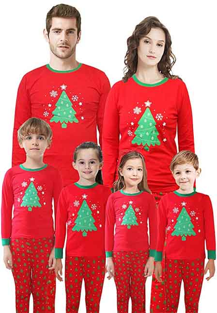 baf73cdd36 Top 10 Best Christmas Family Pajamas 2019 – Latest Bestsellers Only